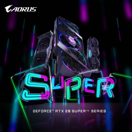 SUPER COMING! GIGABYTE First Unveils GeForce RTX 20 SUPER Series Graphics Cards